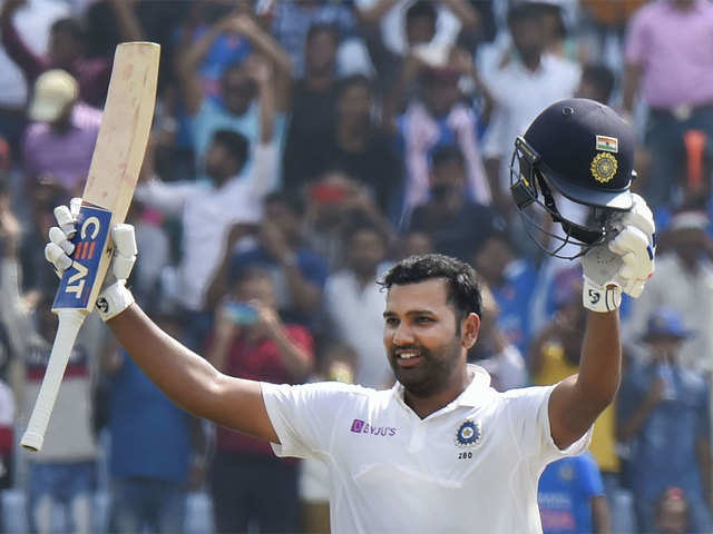 Ranchi Test: Rohit smashes maiden double ton in style