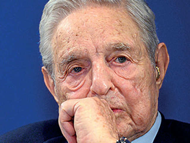 Facebook conspiring to re-elect Trump, says Soros