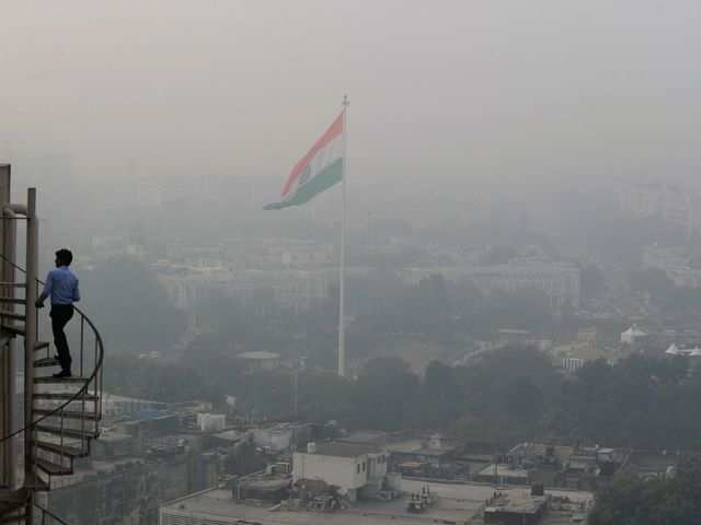 Delhi's pollution at lowest level this winter
